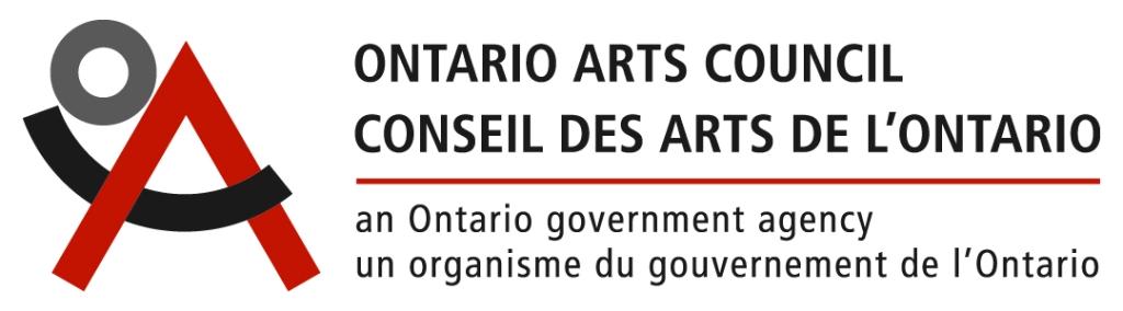 Logo du Conseil des arts de l'Ontario accompagné du texte : Conseil des arts de l'Ontario, un organisme du gouvernement de l'Ontario